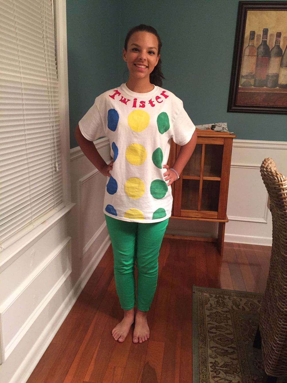 twister board game costume diy more - Board Games Halloween Costumes
