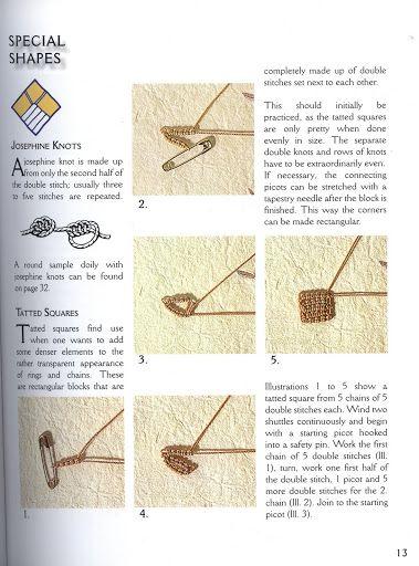 Tatting from Burda - orsochiacchierino - Picasa Web Albums