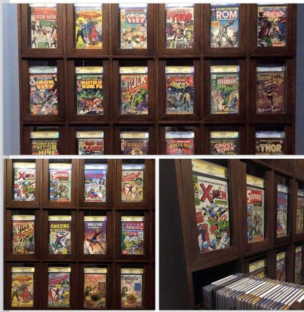 My Cgc Comic Display Storage Cabinet