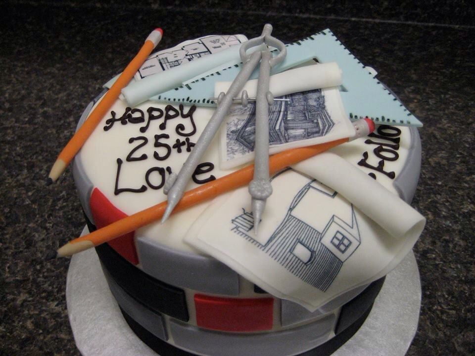 An Architect's Birthday. From Art & Interior Design. In