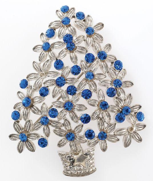 Trifari Christmas Tree Brooch.