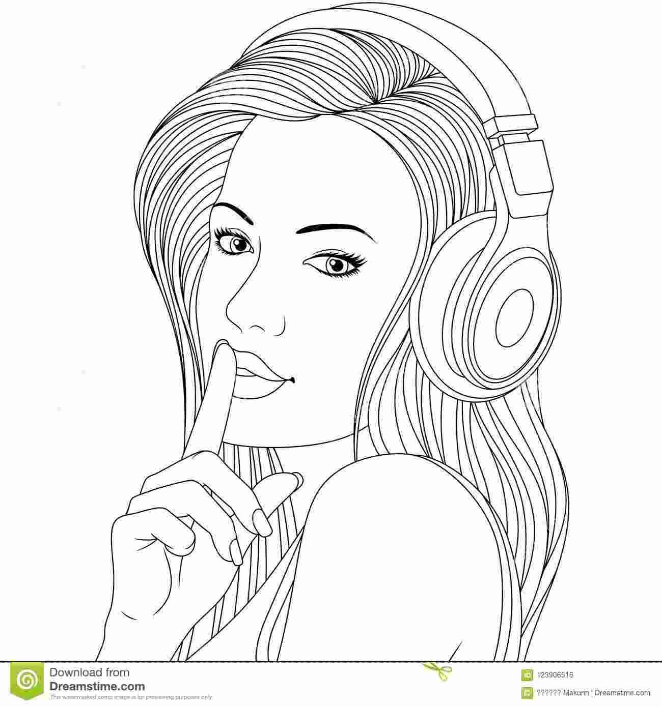 Beautiful Girl Coloring Pages To Print In 2020 Witch Coloring Pages Coloring Pages For Girls Coloring Pages For Teenagers