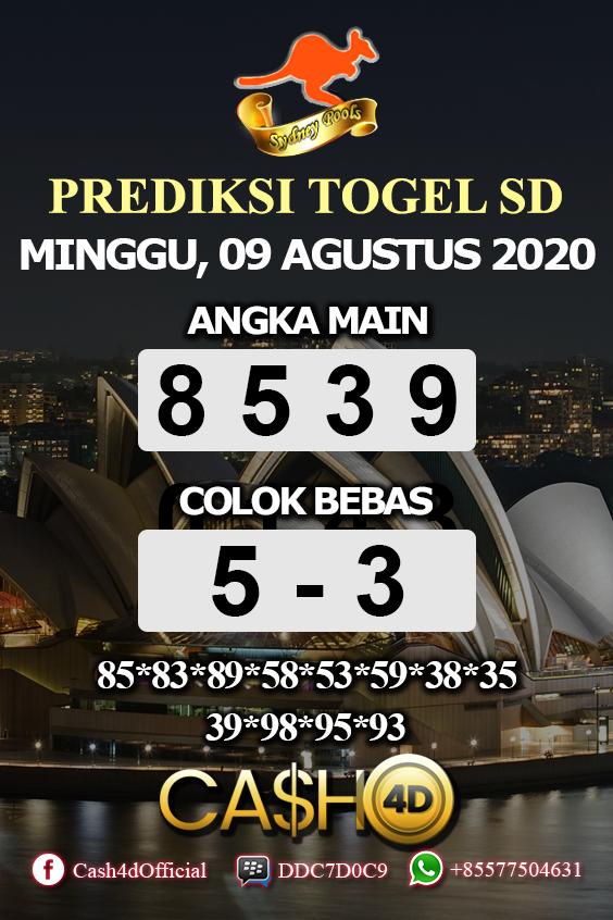 Nomor Sydney 2020 : nomor, sydney, Prediksi, Togel