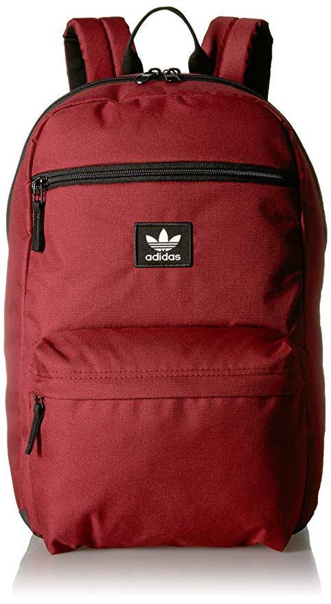 adidas Originals National Backpack, Dark Red