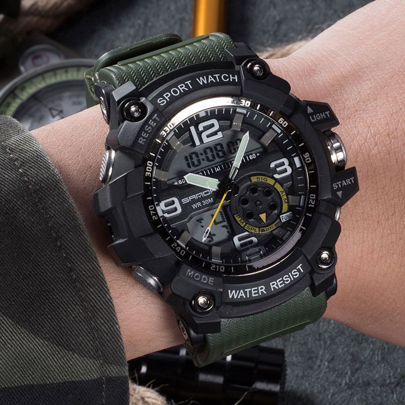 9d8e714dc7c nice SANDA 759 Military Watch Men Waterproof Sport Watch For Mens Watches  Top Brand Luxury Clock Dive Saat relogio masculino hodinky