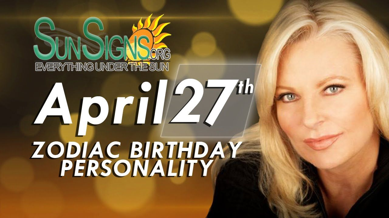Zodiac Facts - 27th April Birthday Horoscope   shopNshop