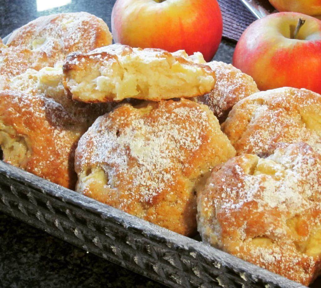 Schnelle leckere Apfeltaler – Kochen & Backen leicht gemacht mit Schritt für Schritt Bildern von & mit Slava #süßesbacken