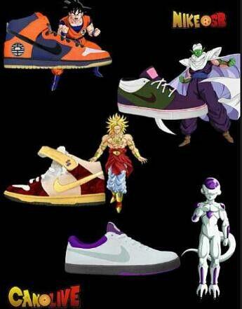 Custom DBZ Nike SBs. | I Want This in 2019 | Dragon ball