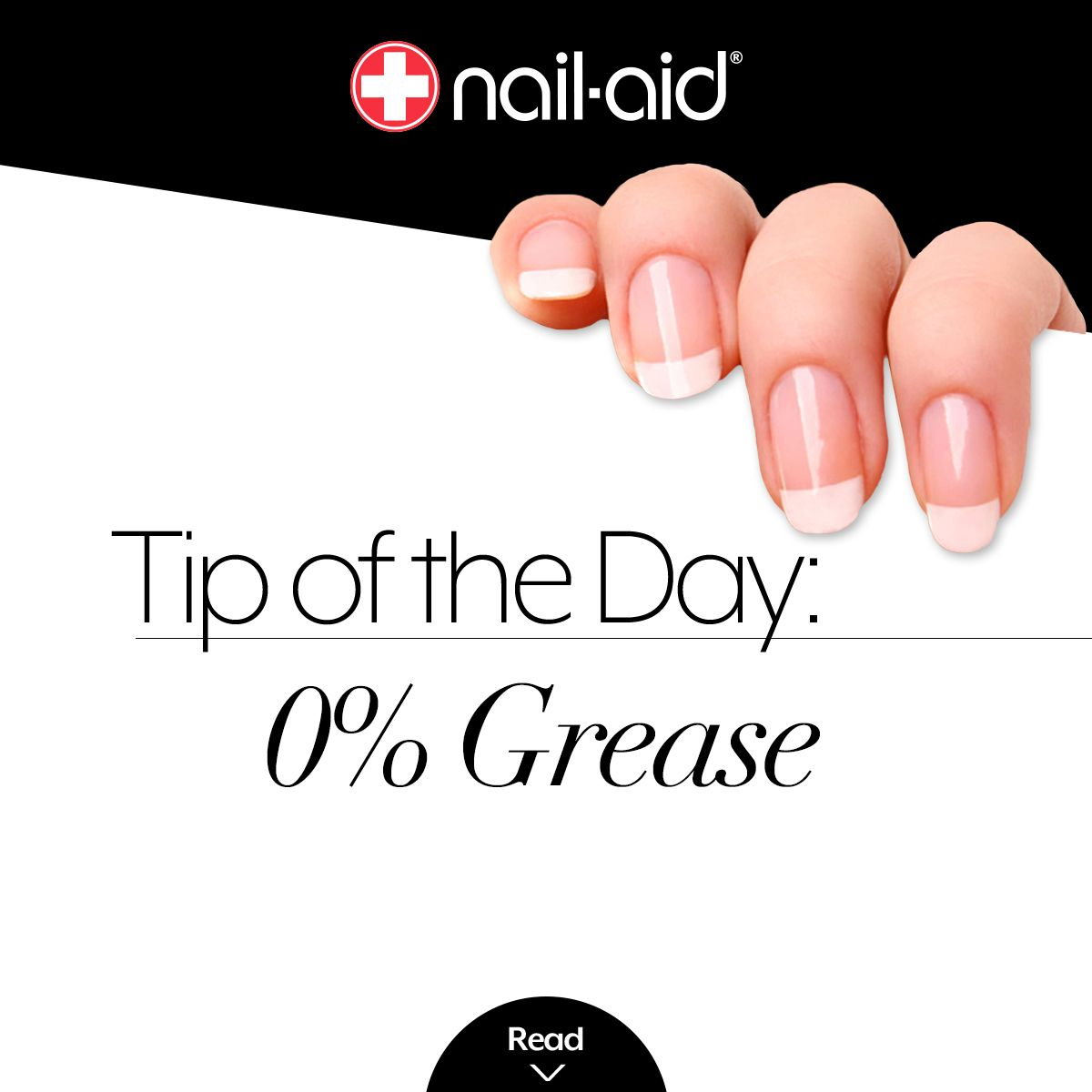 Don\'t start with greasy nails. Don\'t use lotion or cuticle oil onto ...