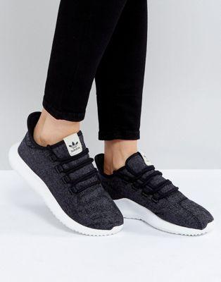 hot sale online bfad4 592b9 adidas Originals Tubular Shadow Sneaker In Dark Gray