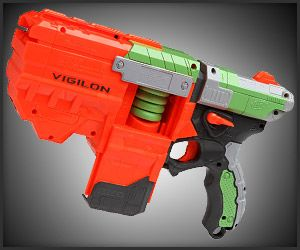 glow in the dark nerf gun