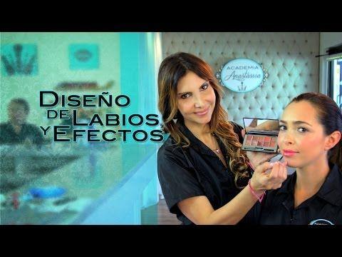 Diplomado Básico: Diseño de Cejas y Aplicación de la Sombra Base (Lección 8) - Academia Anastassia - YouTube