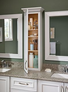 Image Result For Bathroom Counter Hutch