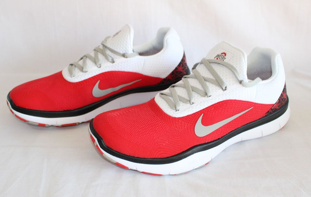 official photos df877 0eee1 Ohio State Buckeyes Nike Free Shoes Trainer V7 Week Zero NCAA Sport LIMITED  NEW  Nike