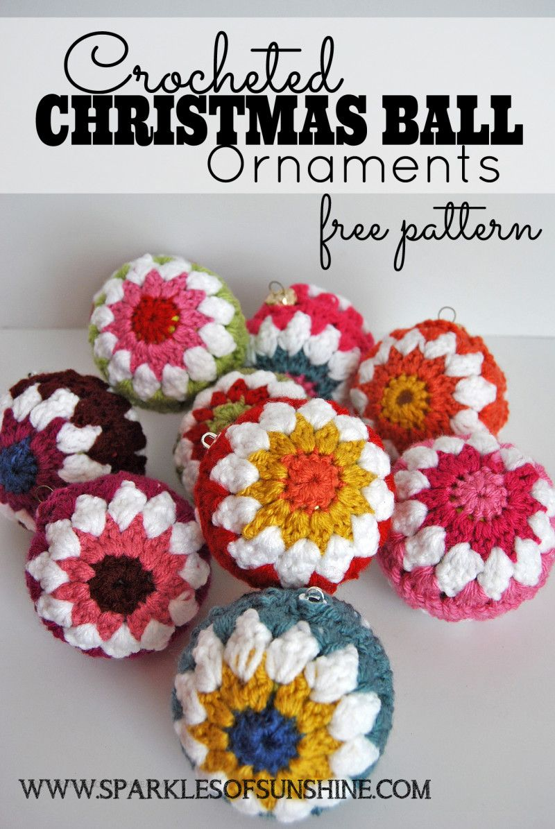 Yes there is still time to crochet your own christmas baubles!  Pattern can be found  HERE, click,click ....