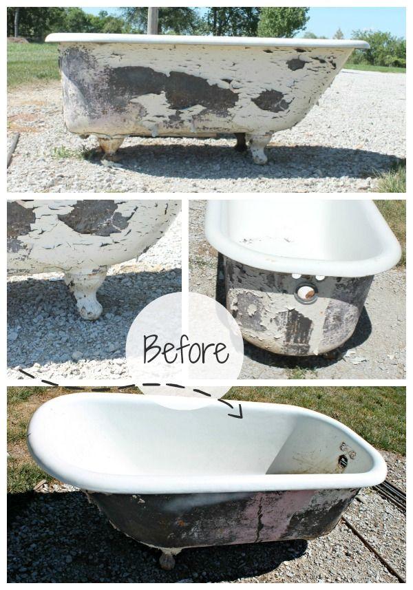 High Quality Bathtub To Sofa Tutorial. Cast Iron ...
