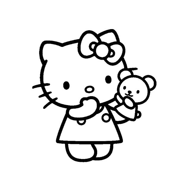 Aneka Mewarnai Gambar Hello Kitty Aneka Mewarnai Gambar Coloring