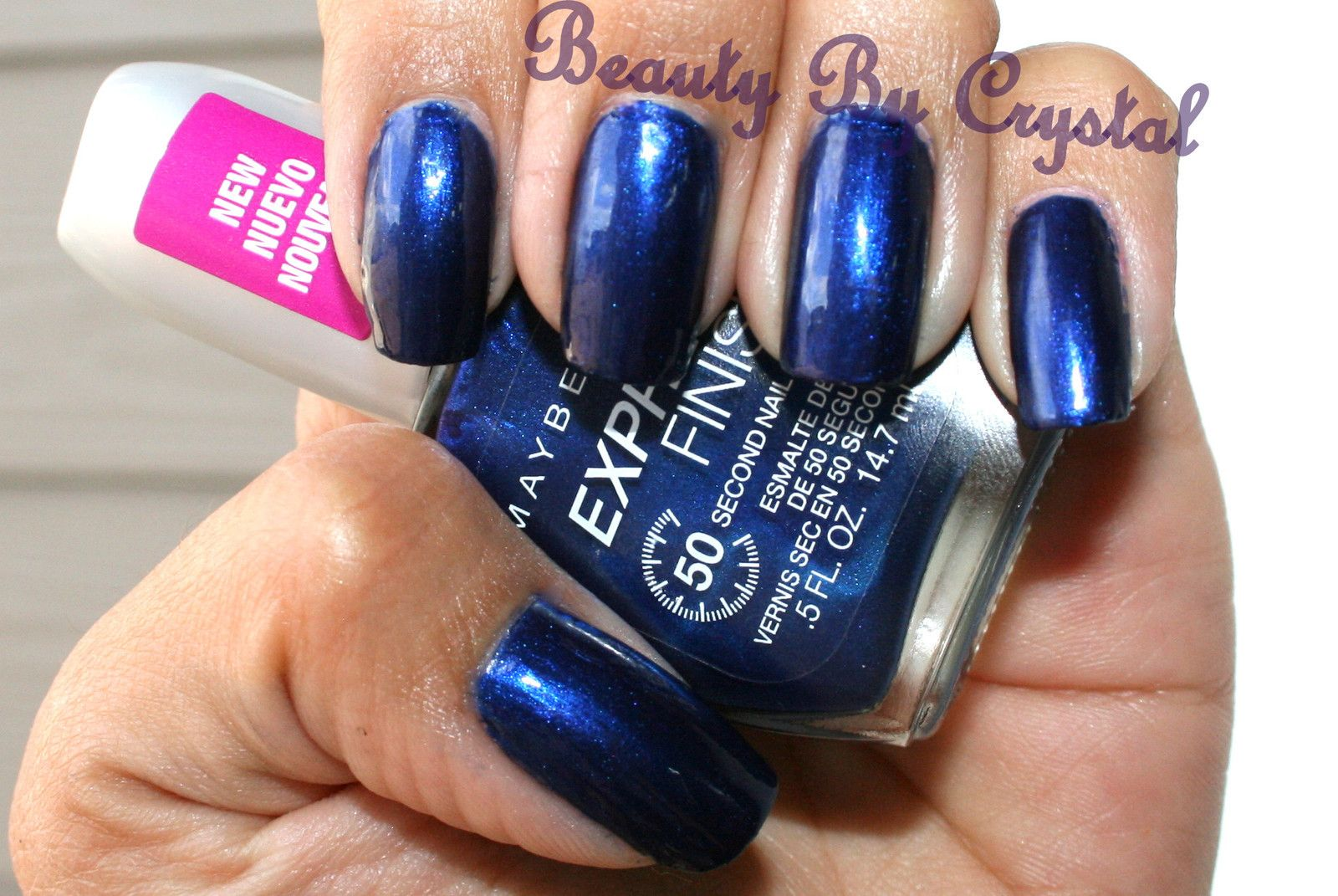 Maybelline Express Finish Nail Polish- DENIM DASH #898 Dark Royal ...
