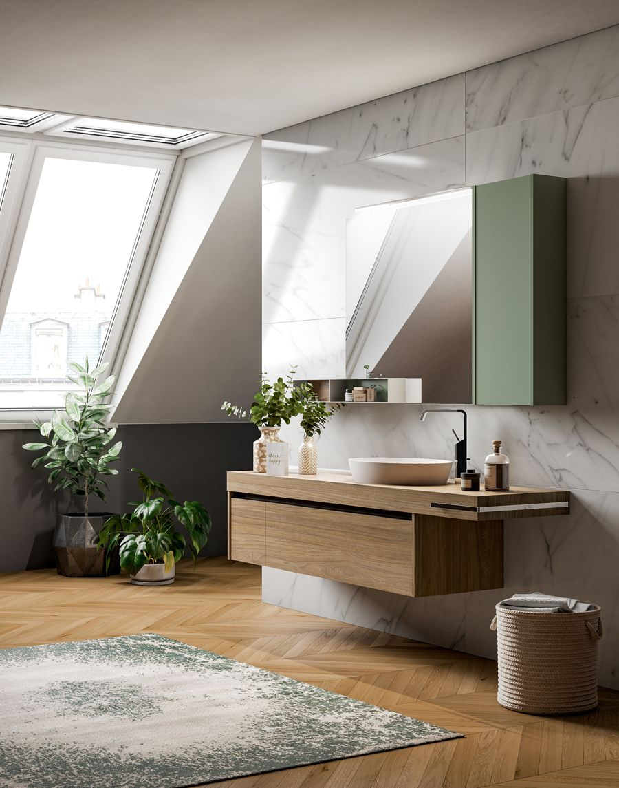 The New Kami Collection From Alternative Bathrooms Includes Open And Closed Cabinets And Shelving As Well As Vanity Tops C Complete Bathrooms Bathroom Luxury