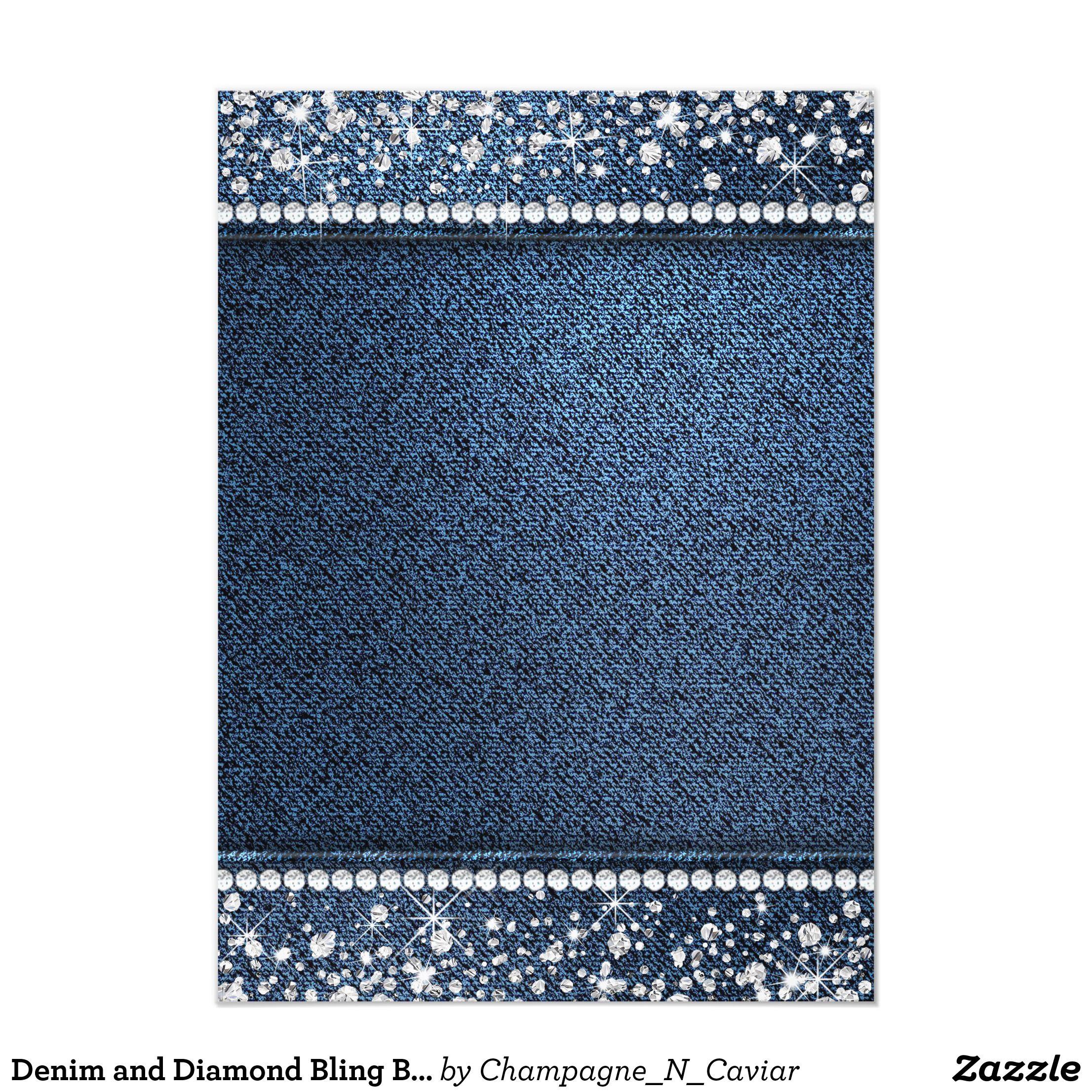 51 Denim And Diamonds Ideas Denim And Diamonds Diamond Party Denim Party