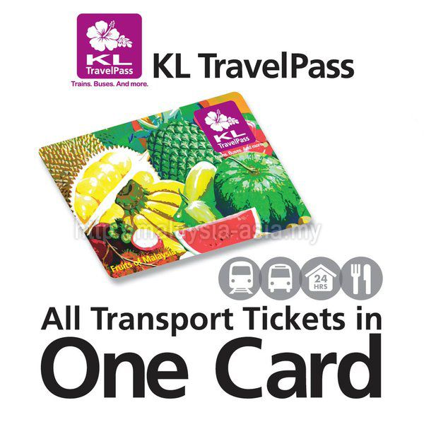 KL Travel Pass Card, your easiest way to travel in Kuala Lumpur City