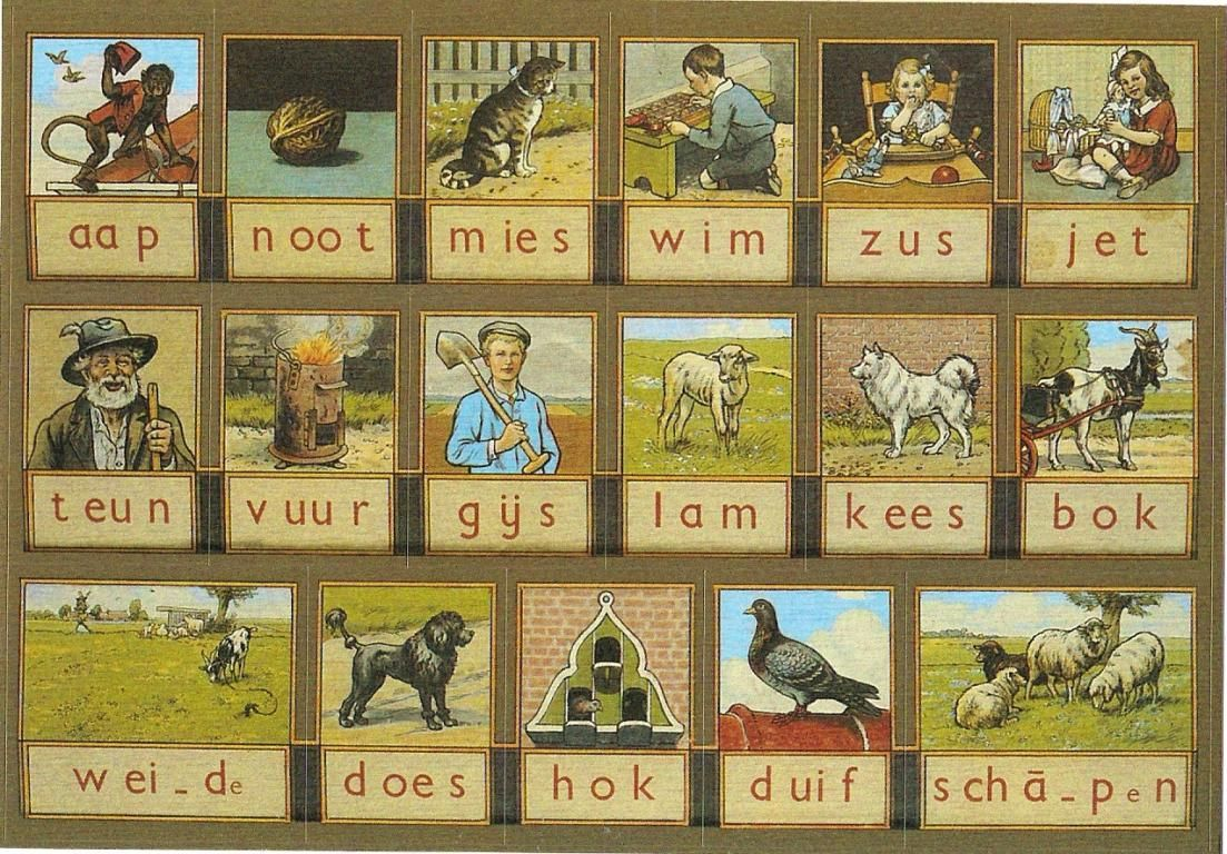 Kleurplaten Aap Noot Mies.Pin Op Things Dutch