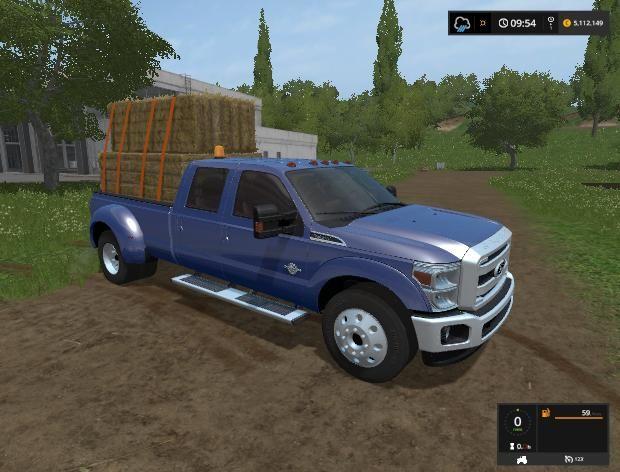 F-350 SUPER DUTY V1 0 FS17 - Farming Simulator 17 mod / FS 2017 mod