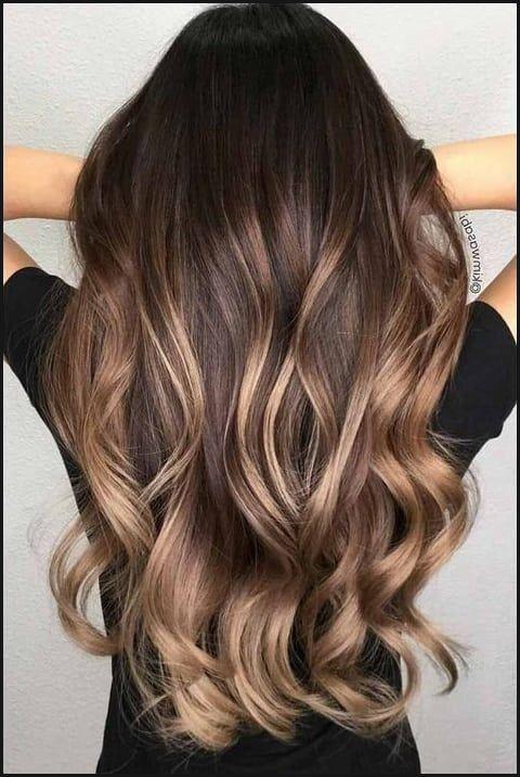 Blonde Strähnchen Auf Braune Haare | braune haare mit
