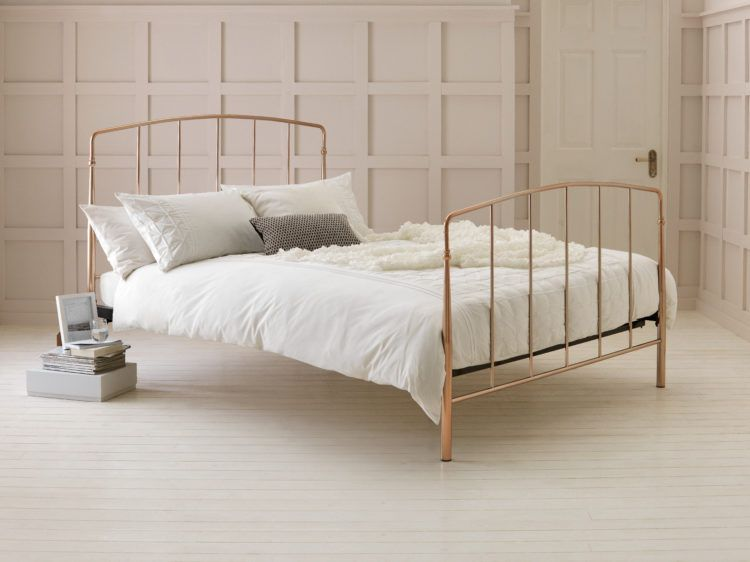 The Collection By Argos Gold Bed Frame Small Bedroom Bed Gold Bed