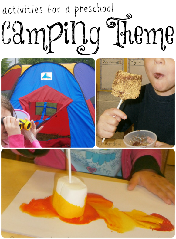 Fantastic Activities For A Preschool Camping Theme Fun A Day