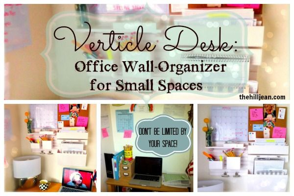 Wall Organizers For Home how to organize a small office | tiny office, office spaces and