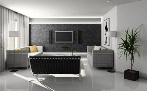Decorar Salas Con Papel Tapiz Best Home Interior Design Room Design Interior Design