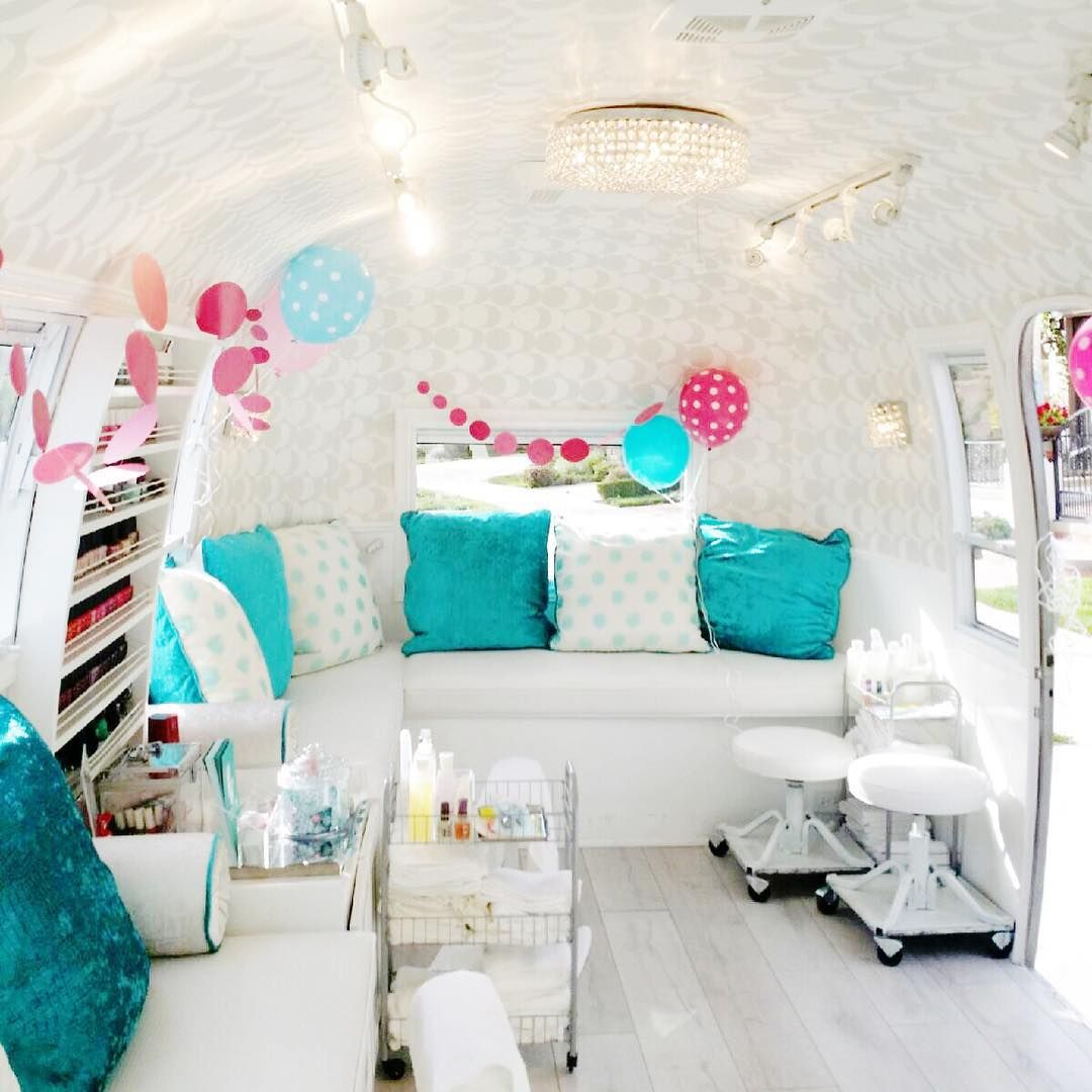 2 days to #beautyconla! Step inside our airstream and get your nails ...