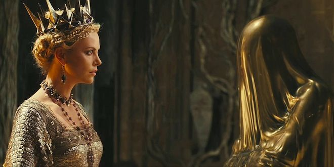 The Evil Queen Charlize Theron Mirror Mirror On The Wall Who
