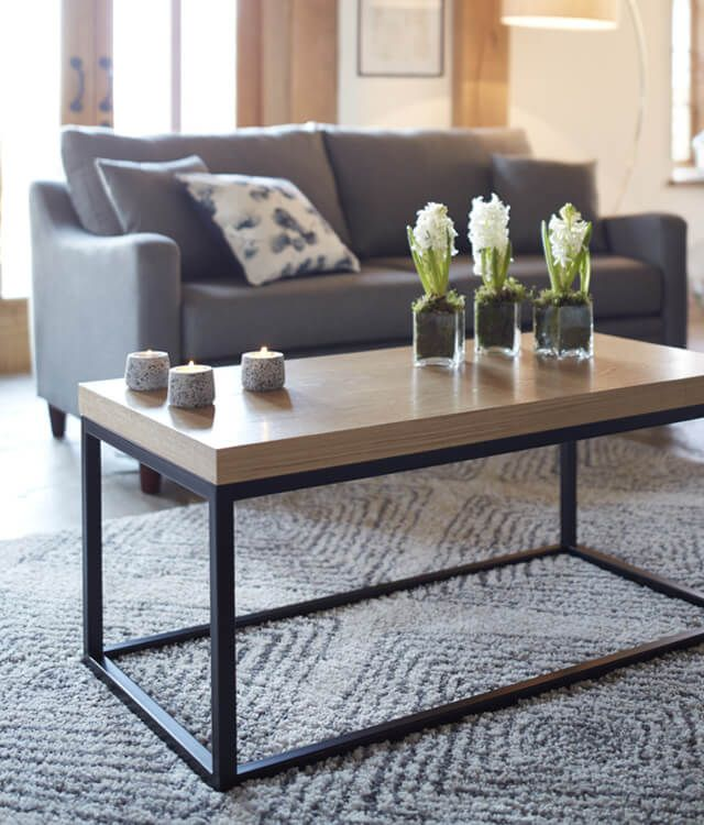 What's your coffee table style?   Whether it's rustic-inspired or elegantly feminine, make your living room centrepiece a conversation-starter with these coffee table ideas.