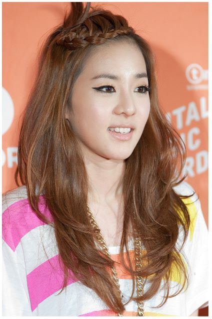 park hair style sandara park with from korea park 8065