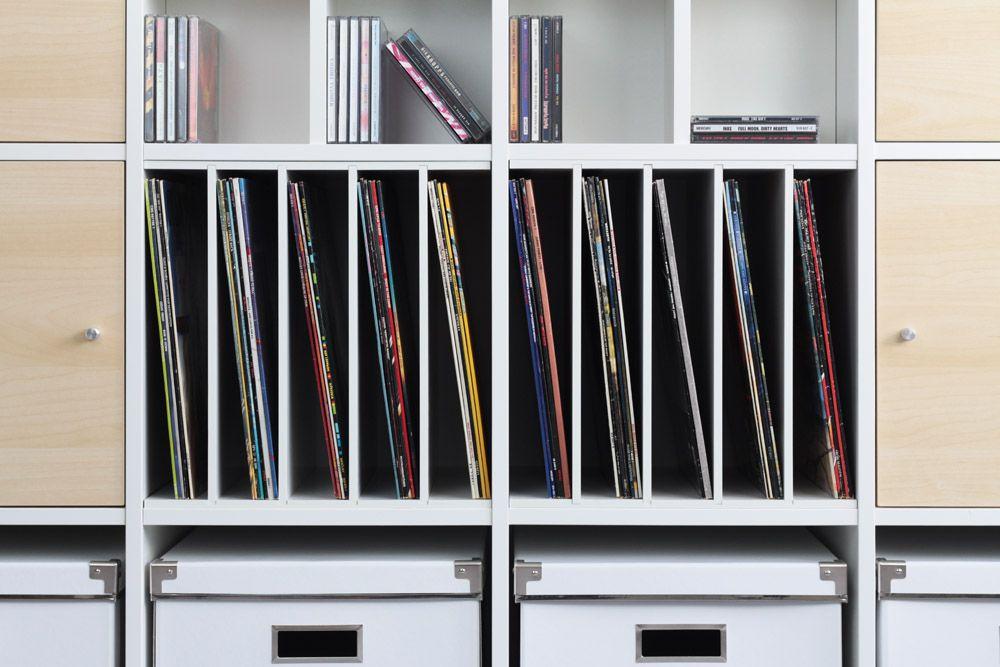 Schallplatten Einsatz Für Ikea Expedit Regal