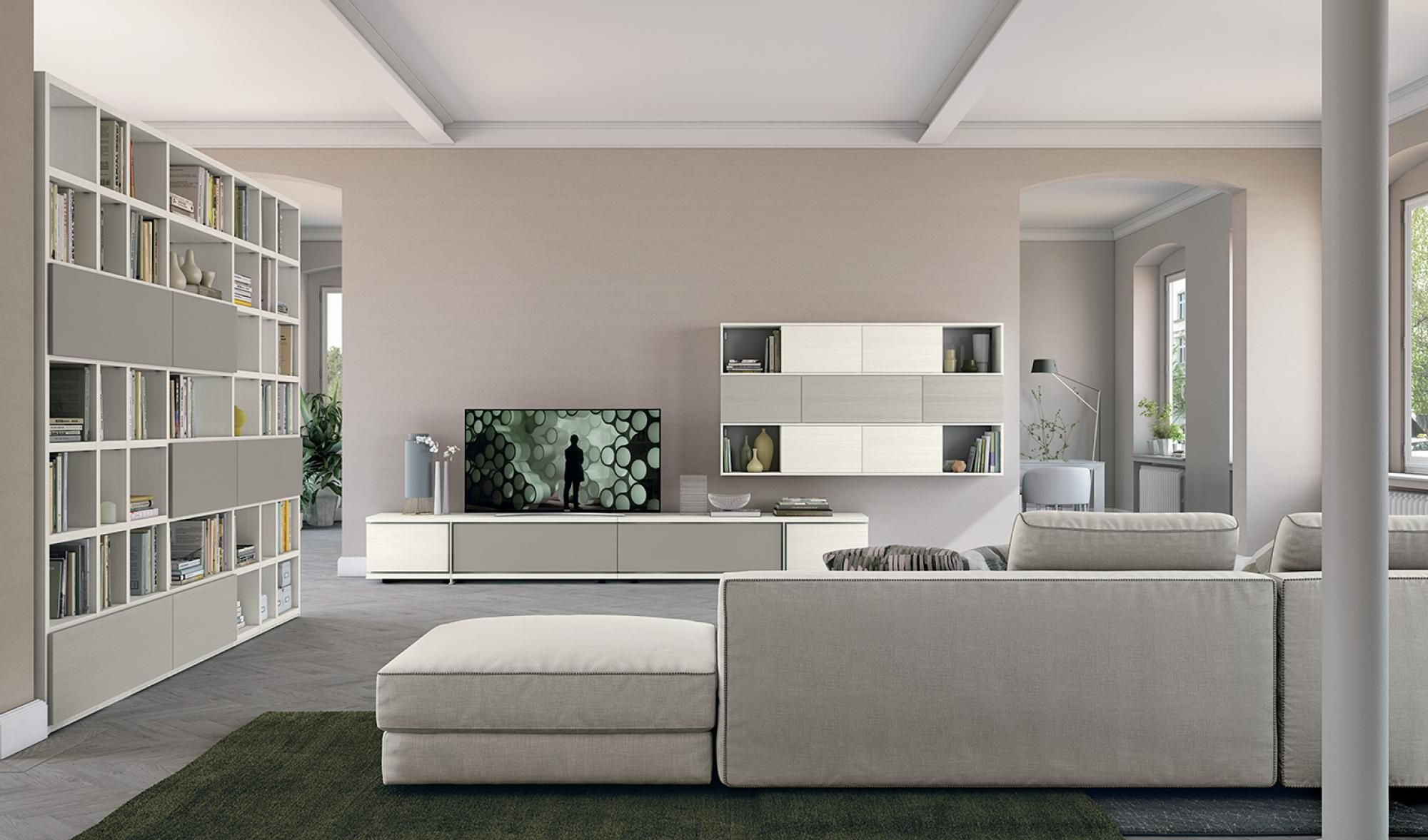 Post modern details colombini casa living room living for Living mobili