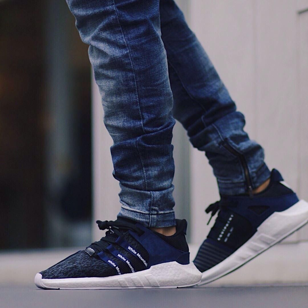 finest selection be3e7 b0d31 On feet White Mountaineering Adidas EQT 9317 Boost