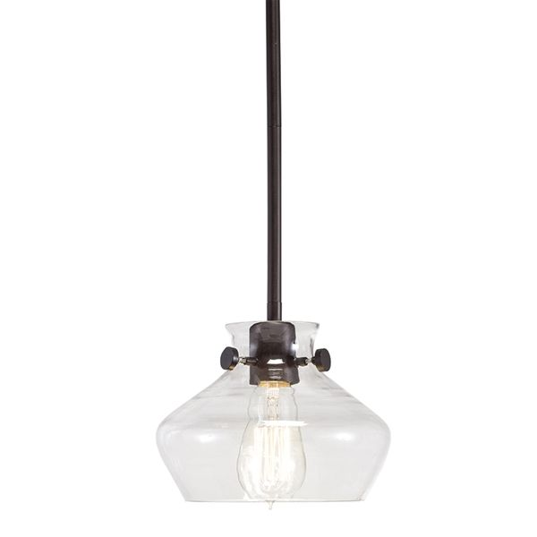 Westwood Collection Olde Bronze Standard Mini Pendant Light With Clear Shade At Lowe S Canada Find Our Selection Of Lights The T