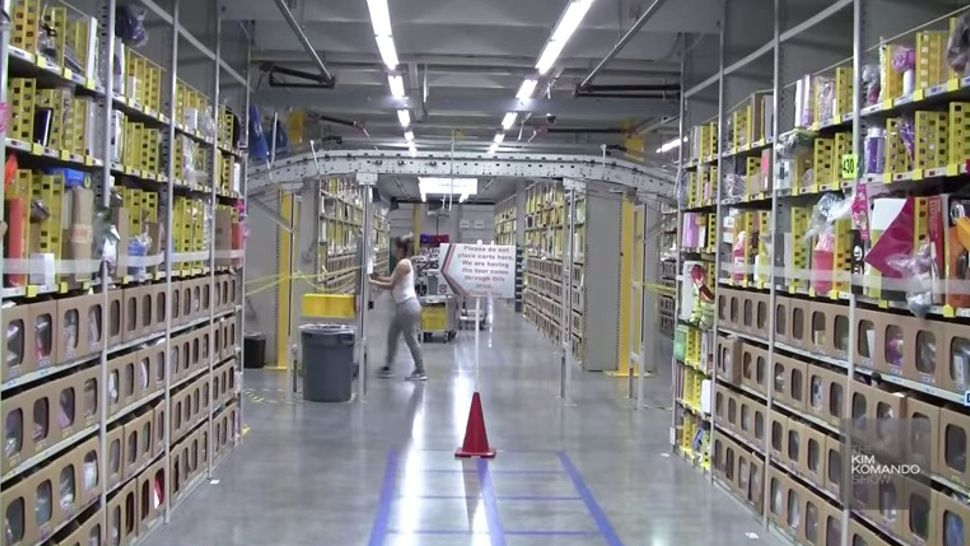 Inside Amazon S Robot Human Assembly Line Consignment Amazon
