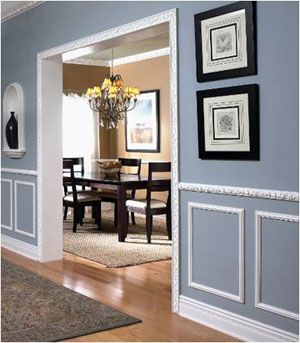 httpwwwlowescomimageslciplanning molding ideasthe whitepicture framewall - Moulding Designs For Walls