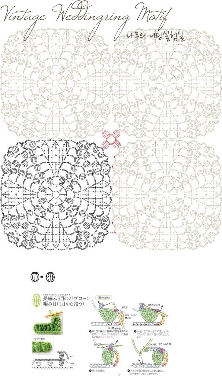 Pin de Ellen Dijkstra en Handwerken | Pinterest | Cobija