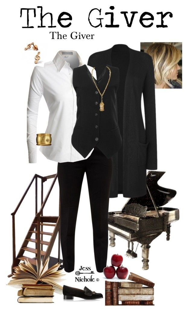 """The Giver: Female: The Giver"" by jess-nichole ❤ liked on Polyvore featuring Ted Baker, LE3NO and Tomas Maier"