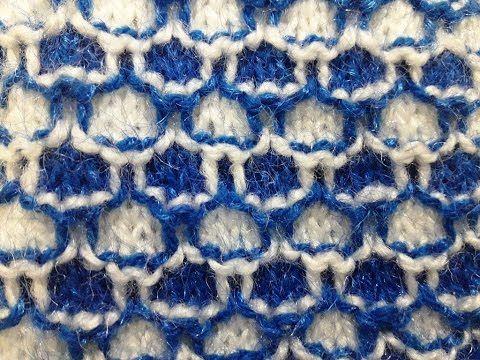Knitting Stitch Pattern No 20 Hindi