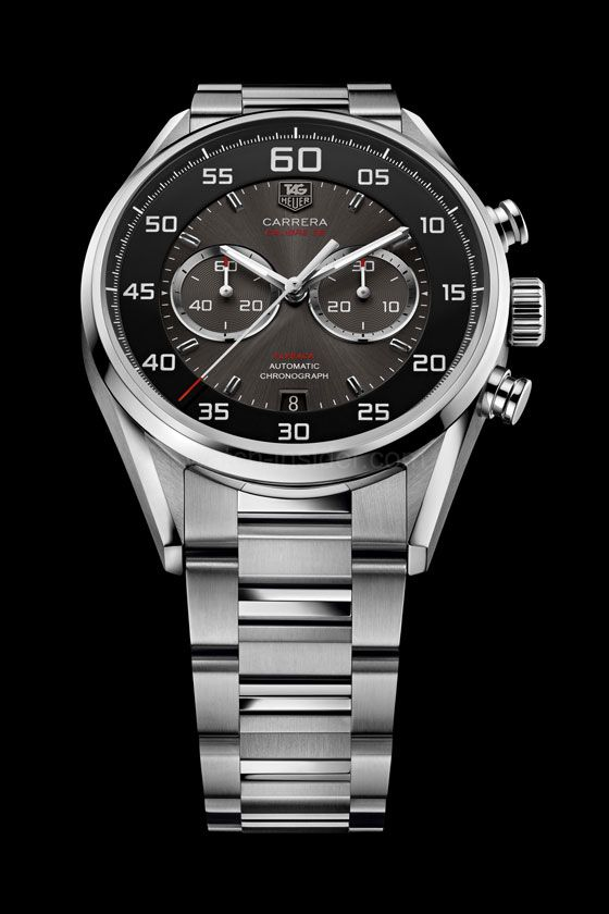1723286bafd TAG Heuer Carrera Calibre 36 Chronograph Flyback; inspired by auto racing