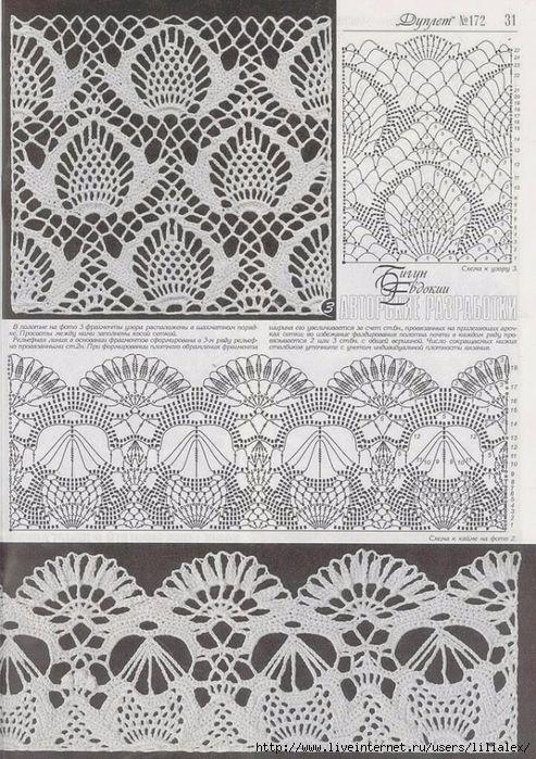 2 (493x700, 364Kb) | knitting | Pinterest | Croché, Ganchillo y Tejidos