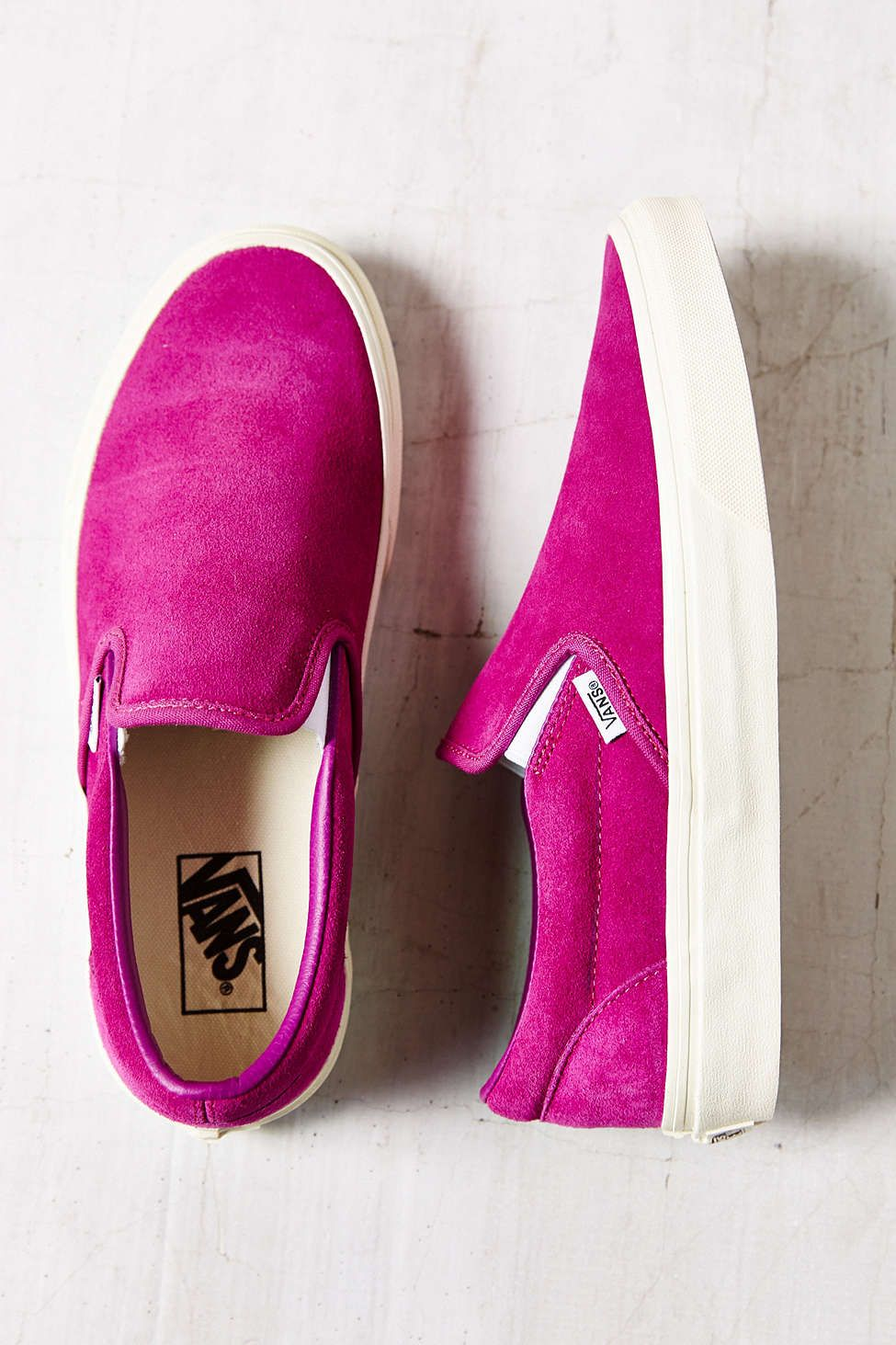 7b3a4cb83a Vans Vintage Suede Classic Womens Slip-On Sneaker - Urban Outfitters ...