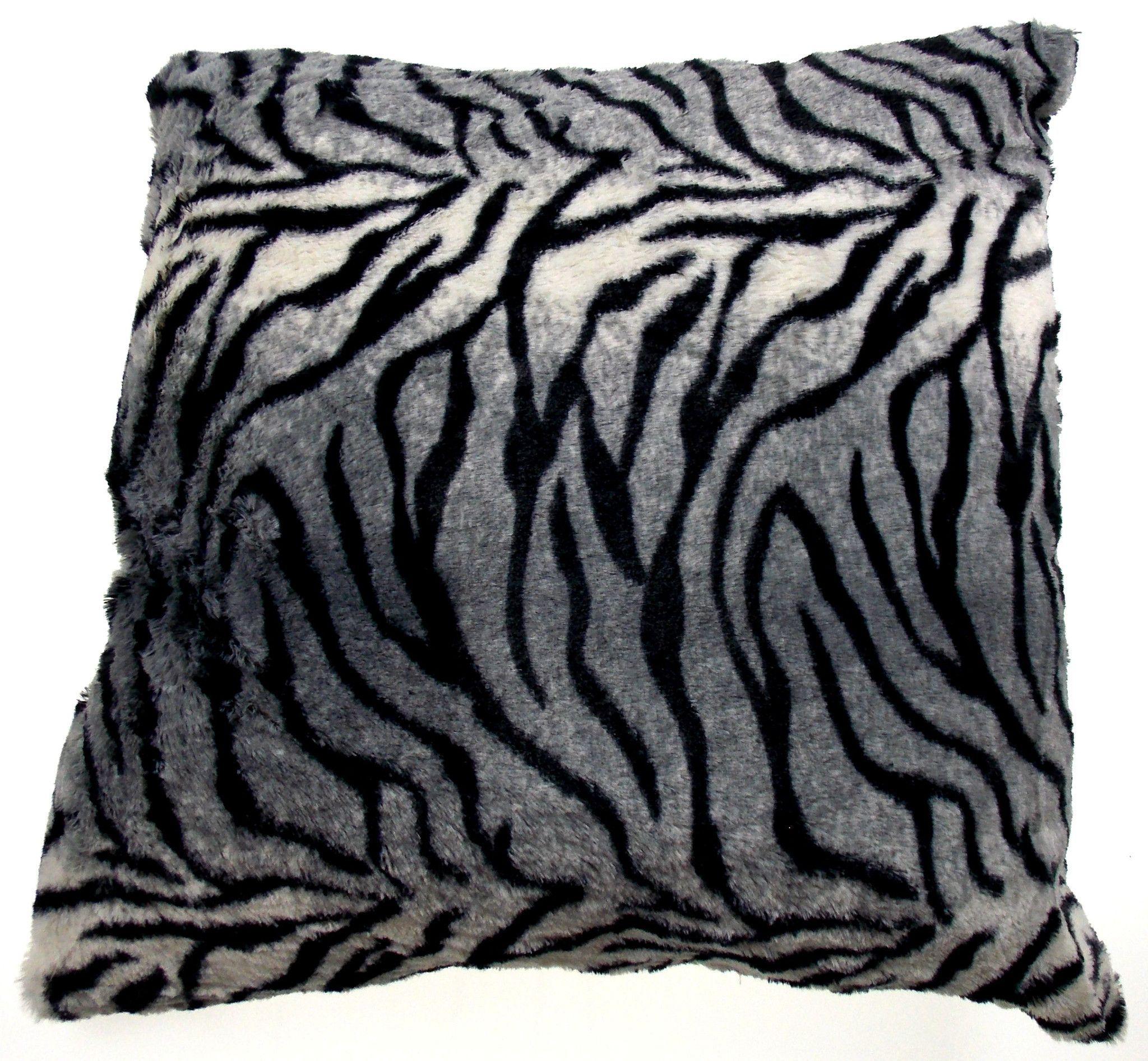 Luxury home textiles animal collection pillow zebra x polyester