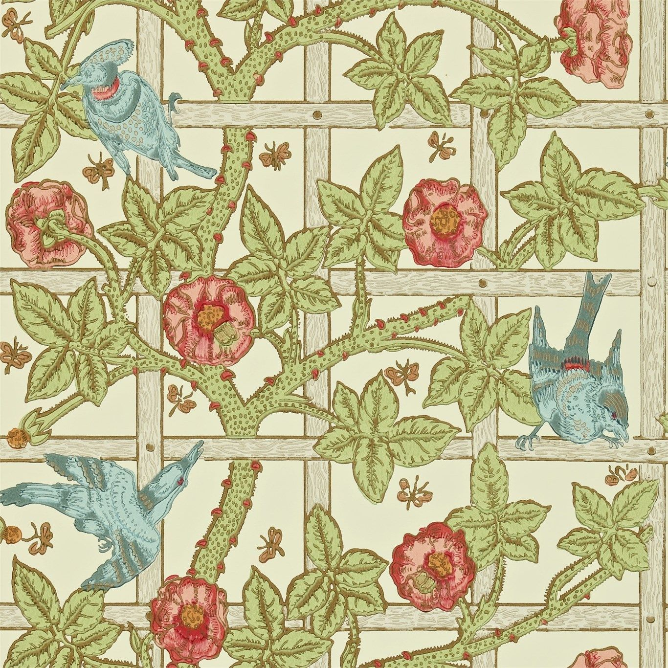 A History Lesson: Lattice, Trellis, and Trelliage | William morris ...